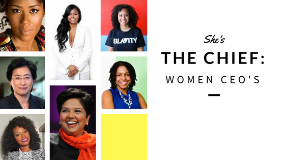 She's The Chief: Women CEOs